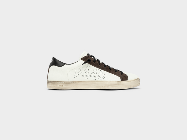 Women's John in White/Brown