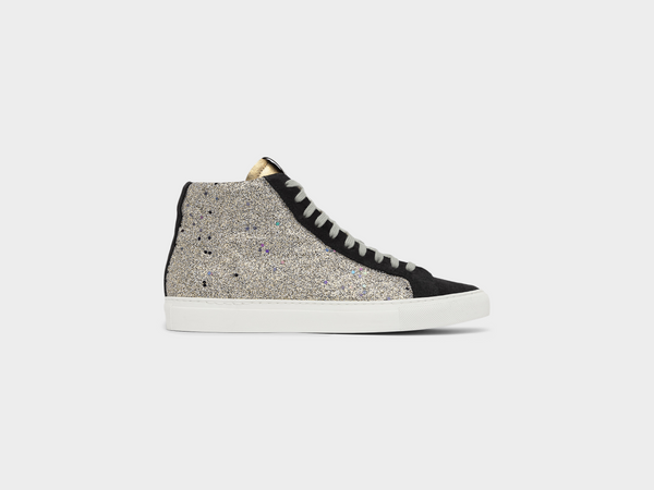 Women's Star2.0 Holographic White Glitter