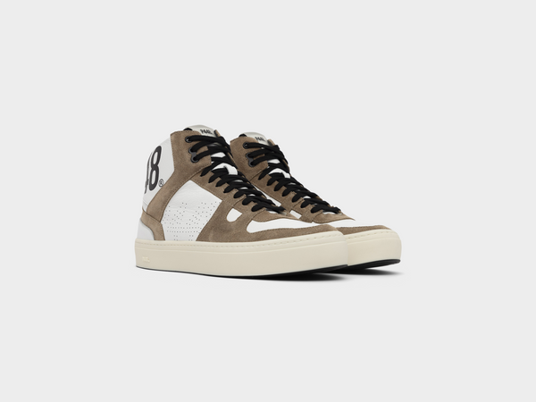 Men's Tommy in Tobacco Brown Suede