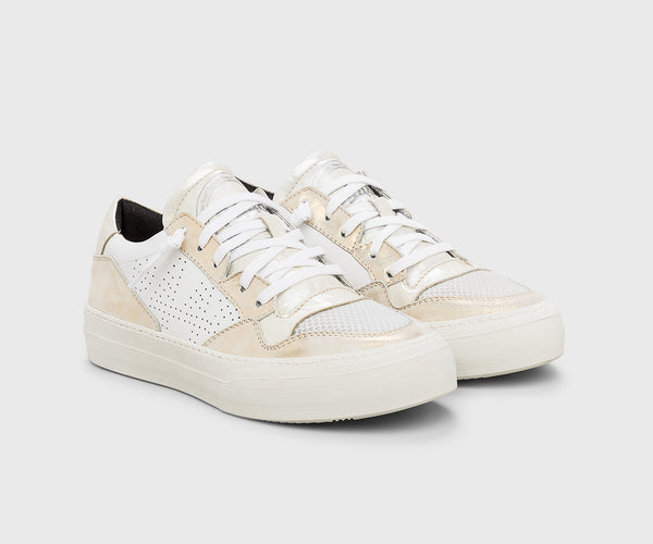 P448 SpaceLow Low Top Sneaker in White
