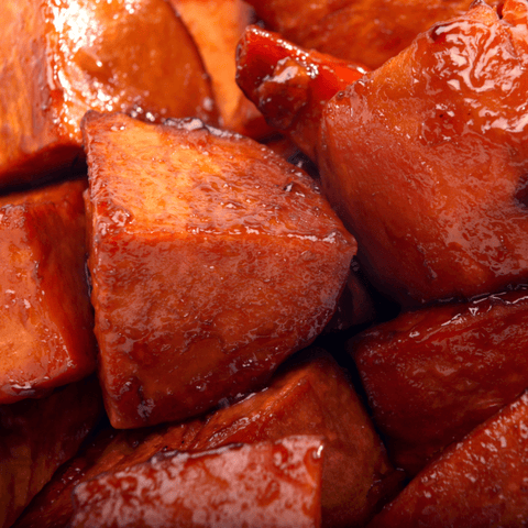Catering Candied Sweet Potatoes