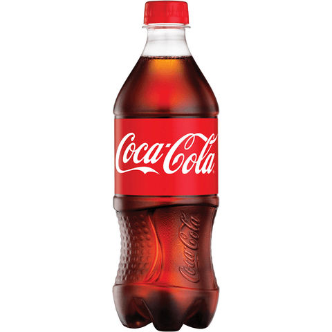Catering Coca-Cola Bottled Coke Products (20 oz. Bottle)