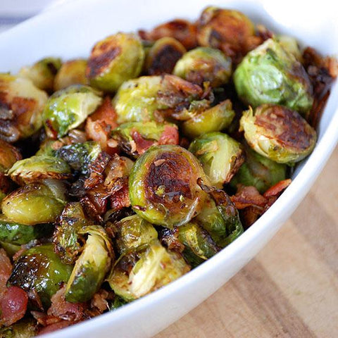 Catering Roasted Brussel Sprouts with Bacon