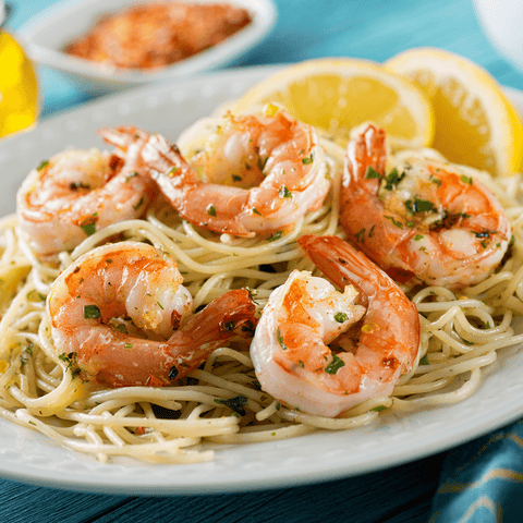 Catering Shrimp Scampi