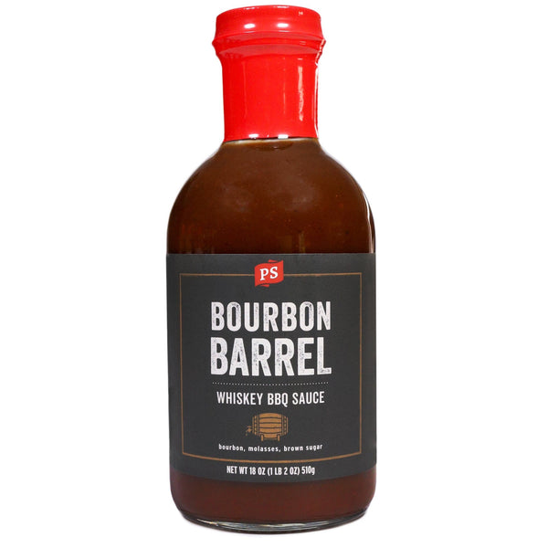 Grocery Bourbon Barrel Whiskey BBQ Sauce - P&S