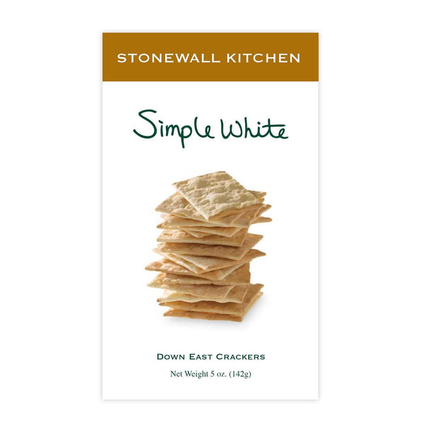 Grocery Crackers, Simple White - Stonewall Kitchen