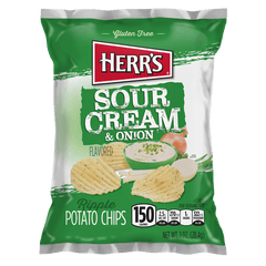 Grocery Herr's Sour Cream & Onion Chips