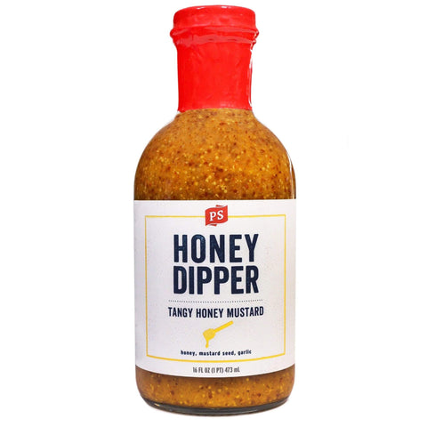 Grocery Honey Dipper Tangy Honey Mustard Sauce - P&S
