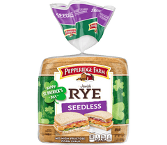 Grocery Jewish Rye (Unseeded) ~ Pepperidge Farms
