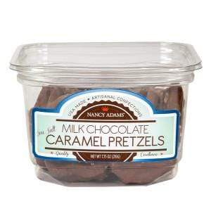 Grocery Nancy Adams Milk Chocolate Caramel Pretzels (7.75oz)