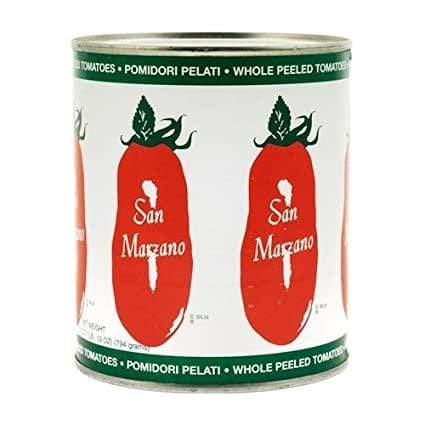 Grocery San Marzanno Whole Peeled Tomatoes (28oz)