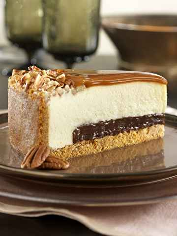 Grocery Turtle Cheesecake