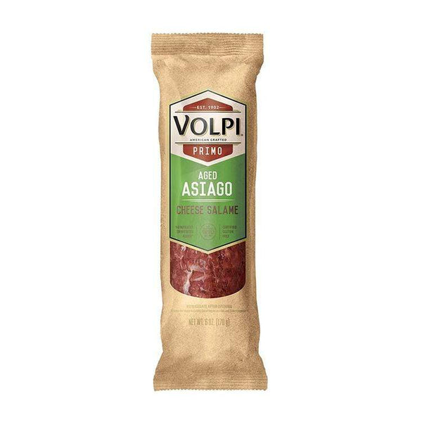 Grocery Volpi Salami - Aged Asiago | Cheese Salame