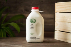 Grocery Whole Milk - 1/2 Gallon (w. Glass Bottle Deposit)