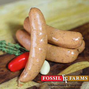 Meats 12 oz. Pack Duck Sausage with Apple Brandy