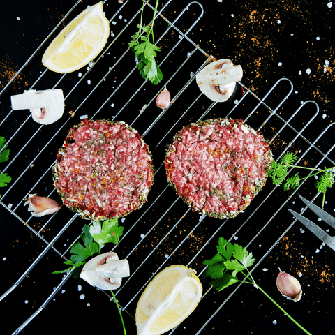 Meats Burgers - Blue Cheese Black Pepper