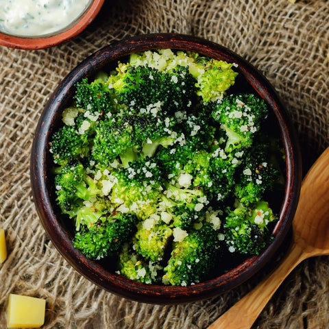 Prepared Foods Garlic Parmesan Broccoli