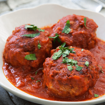 Prepared Foods Meatballs (Full-Sized) - Meal for One
