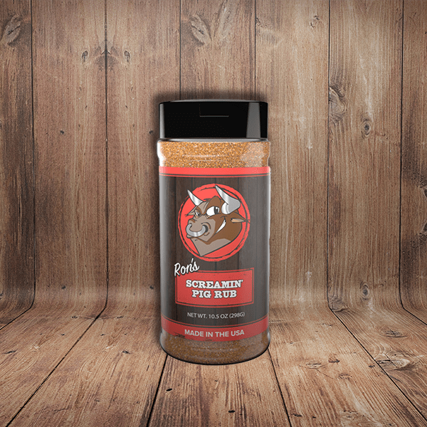 Ron's Screamin' Pig Rub ~ Rec Tec Grills