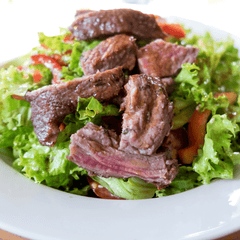 Sandwiches Balsamic & Blue Cheese Steak Tip Salad