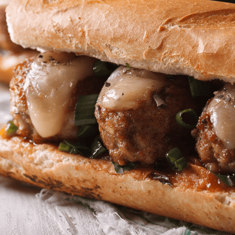 Sandwiches Meatball Parm