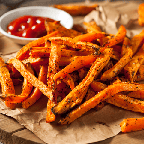 Sandwiches Sweet Potato Fries