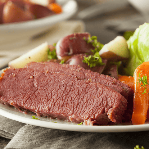St. Patrick's Day Corned Beef & Cabbage Meal