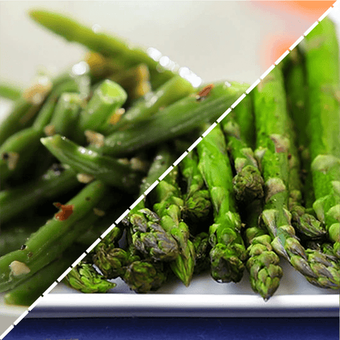 Valentine's Day Asparagus x 1 & Green Beans x 1 Valentine's Day - Paramour Package (Shrimp Option)