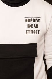 Big Front Pocket Fleece Jumper 'Enfant de la Street' Nelti C. (Men)