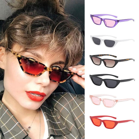 Women Man Fashion Vintage Cat Eye Sunglasses Eyewear Retro Unisex