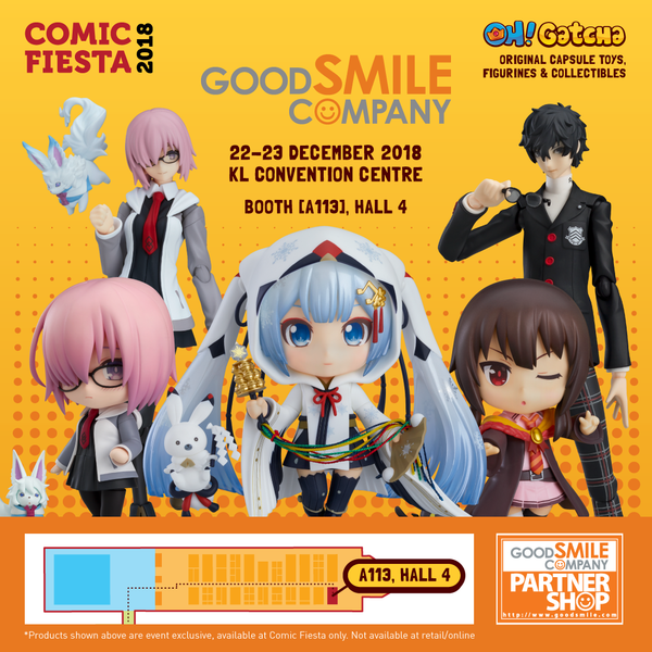 GOOD SMILE COMPANY @ COMIC FIESTA !!