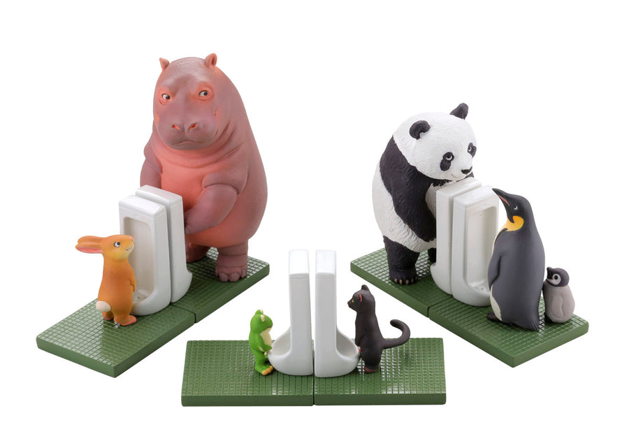 miniQ Sato Kunio's Animals Bathroom in Groups 2