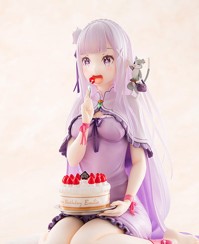 Re : Zero - Emilia : Birthday Cake Ver - 1/7th Scale Figure