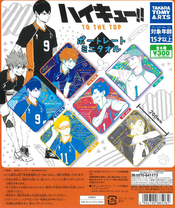 CP1061 Haikyu !! To The Top Portrait Mini Towel