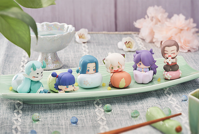 The Legend of Hei Collectible Figures: Wagashi