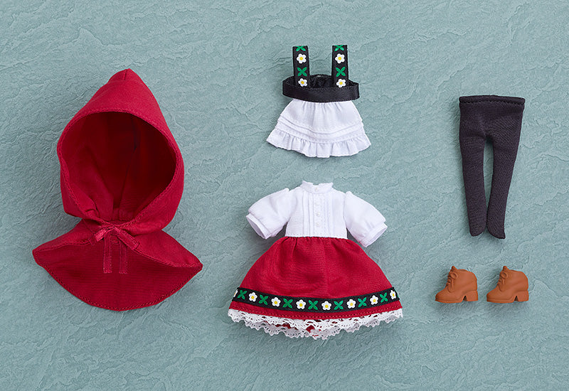 Nendoroid Doll Outfit Set (Little Red Riding Hood Rose)