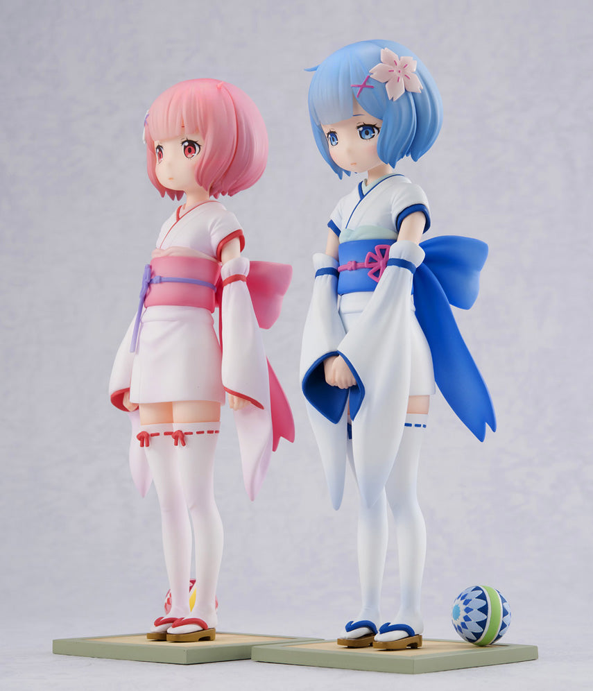 RE : Zero - Ram & Rem - Osanabi no Omoide - 1/7th Scale Figure (SET)