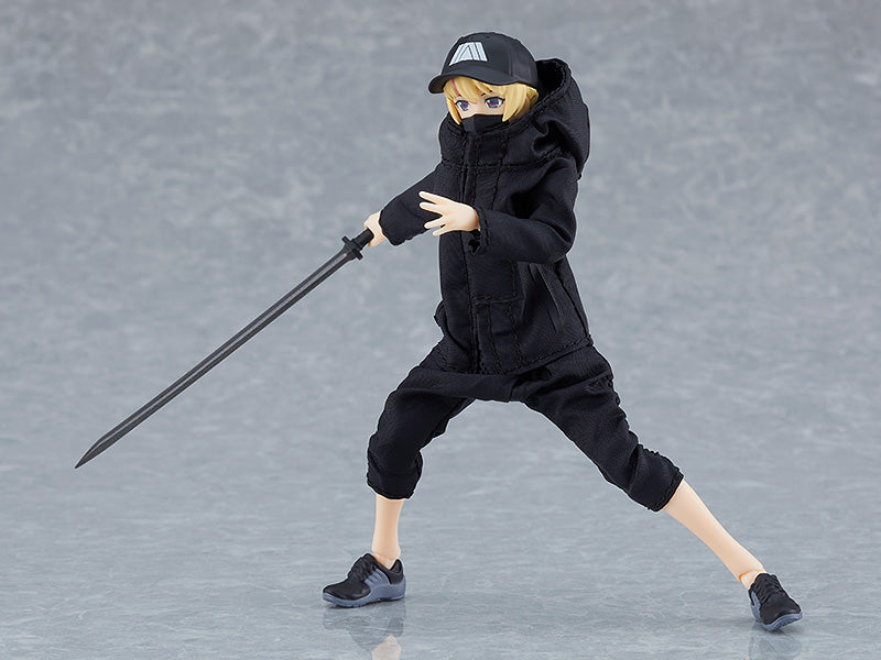 524 figma Female Body (Yuki) with Techwear Outfit