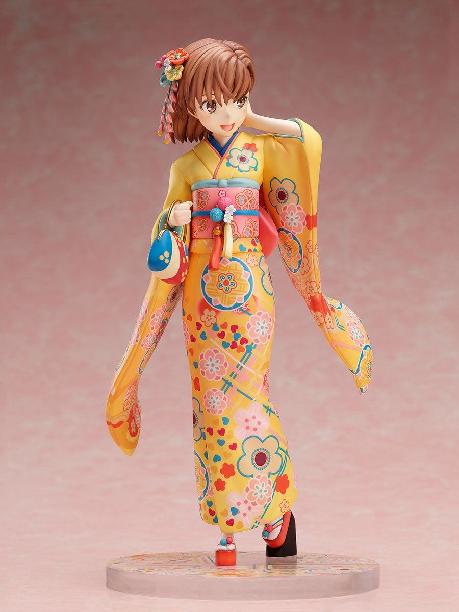 A Certain Scientific Railgun T Mikoto Misaka: Furisode ver. 1/7 Scale Figure