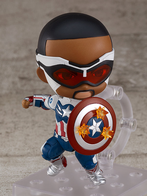 1618-DX Nendoroid Captain America (Sam Wilson) DX