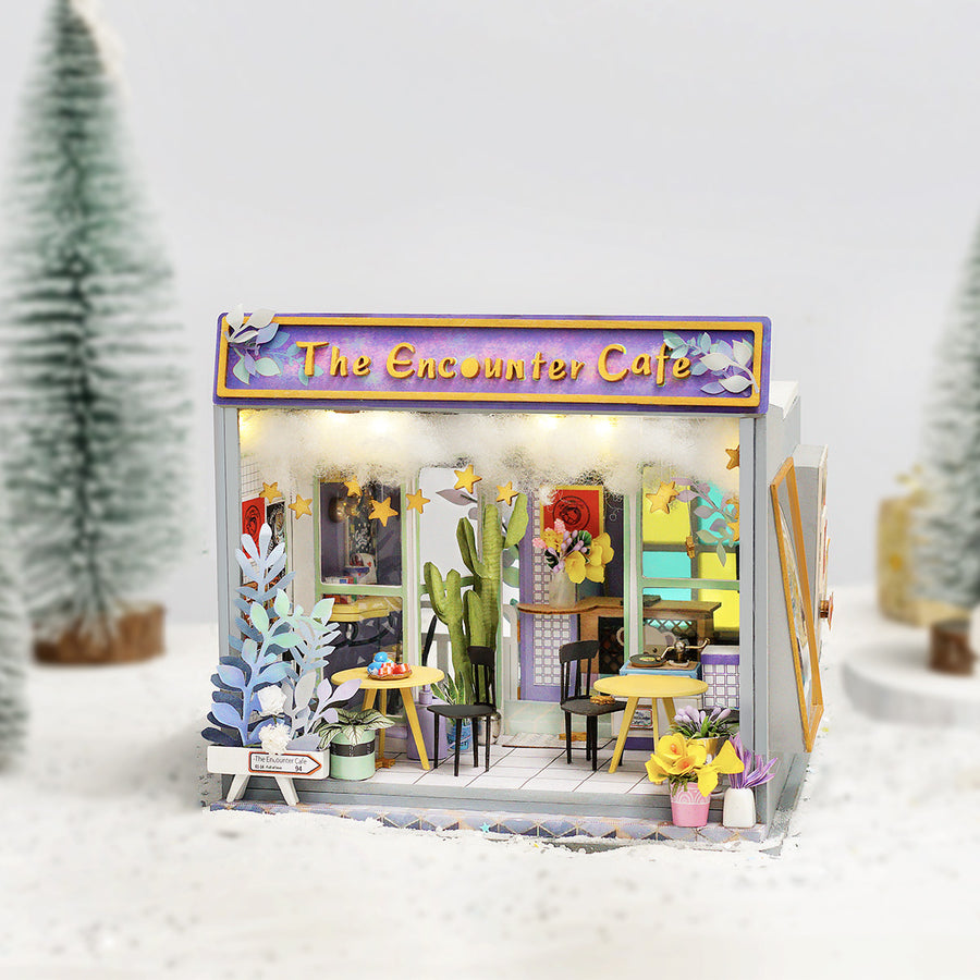 DIY MINIATURE HOUSE : TEDDY THEME - The Encounter Cafe