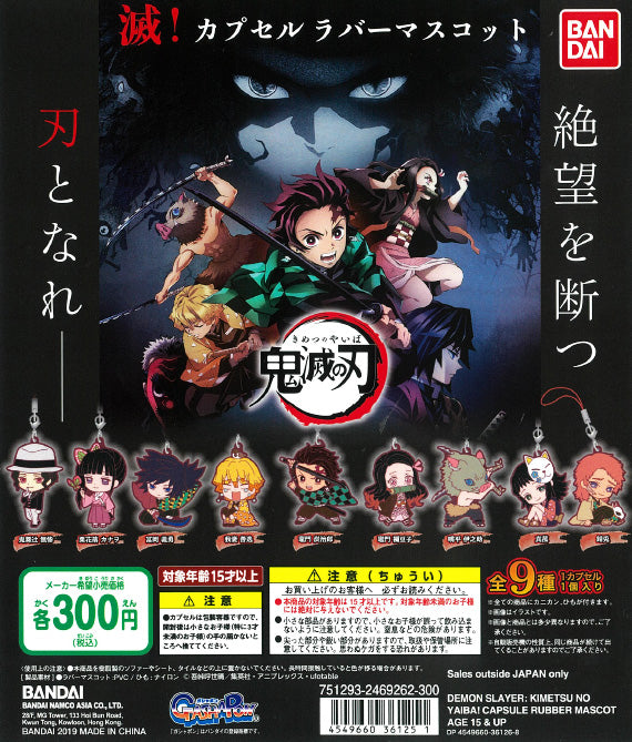 WB0033 DEMON SLAYER: KIMETSU NO YAIBA! CAPSULE