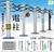 Telegraph Pole - Complete Set