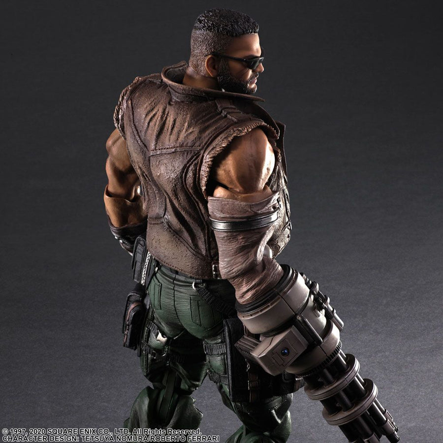 Final Fantasy VII Remake - Play Arts Kai Barret Wallace Ver. 2