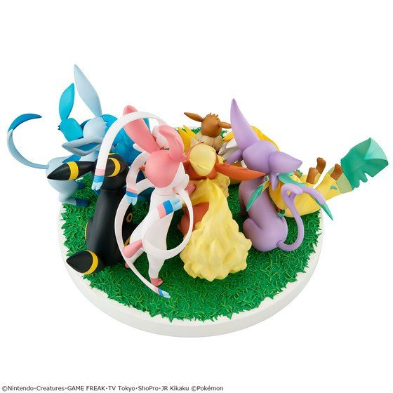G.E.M.EX SERIES EIEVUI FRIENDS (with premium gift)