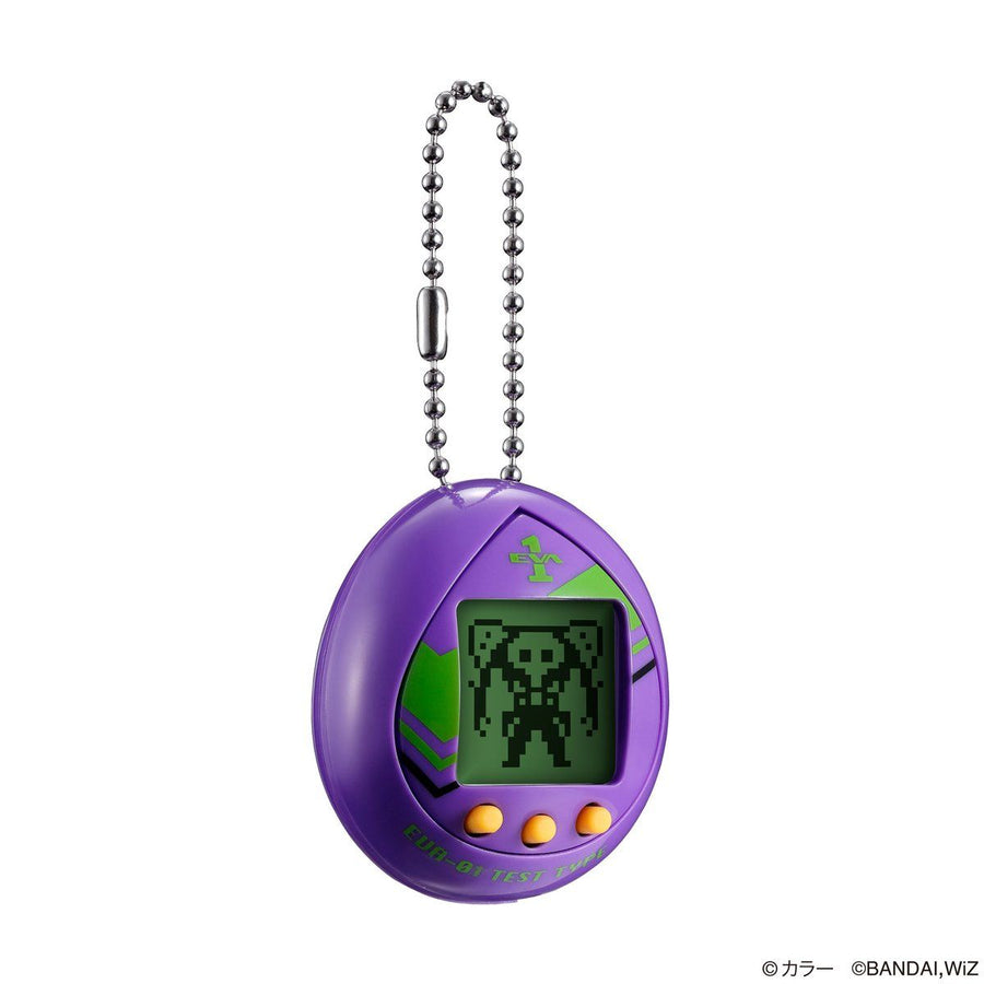 TAMAGOTCHI - EVATCHI 01 TEST TYPE MODEL - PURPLE COLOR