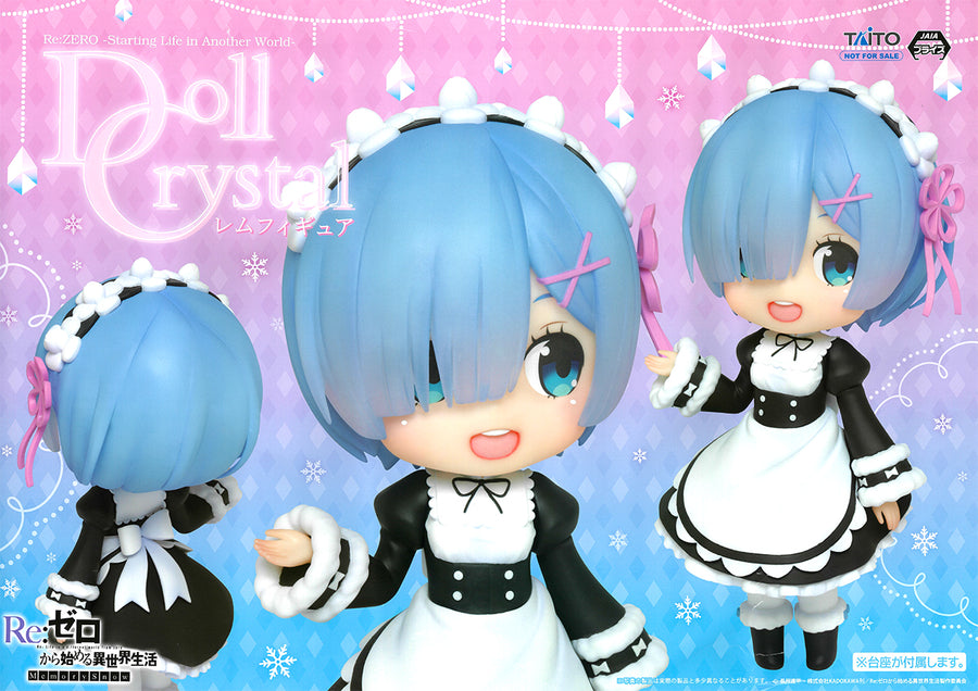 Re Zero - Doll Crystal Rem Figure