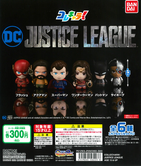 WB0110 COLLECHARA! JUSTICE LEAGUE