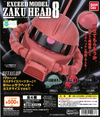 WB0004 - GD EXCEED MODEL ZAKU HEAD 8 - Complete Set
