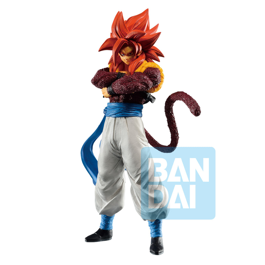 ICHIBANSHO FIGURE - DRAGON BALL - DOKKAN BATTLE : SUPER SAIYAN 4 GOGETA